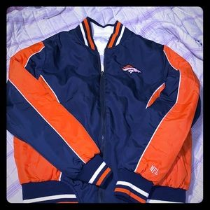 Reversible Denver Broncos puffed jacket
